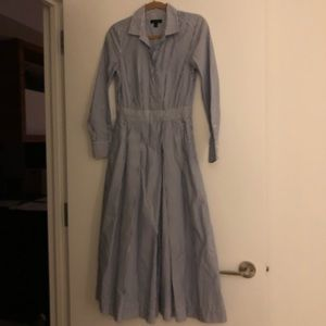 J.Crew Collection Striped Jumpsuit Size 0